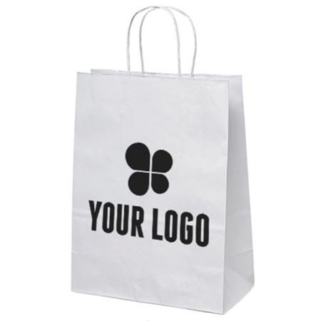 10 x 13 White Paper Bag